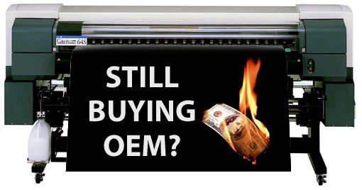 Still buying OEM inks?